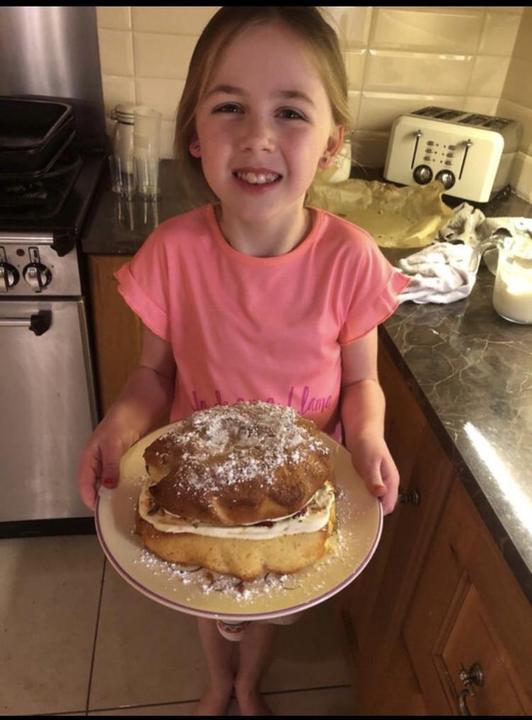 Miya's yummy cake!
