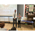 Conall, achievement in literacy and writing