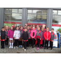 The pupils had a great day investigating Dundrum!