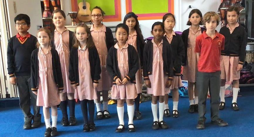 Year 4 Choir