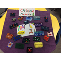 Year 4 made purses and wallets