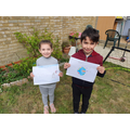 Ada ( Reception P) and Armand Year 3F