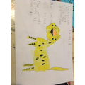 Gregory's leopard writing