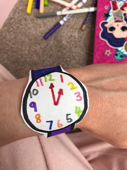 Charlotte's Mum's watch!