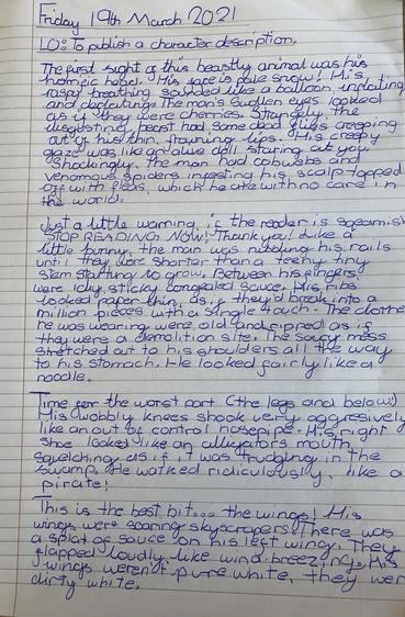 Read Soliana's amazing writing!