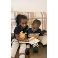 Helping Elias to read