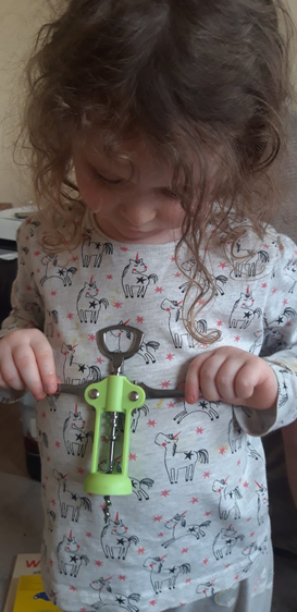"""Florence found a """"turner"""" in her cutlery drawer."""
