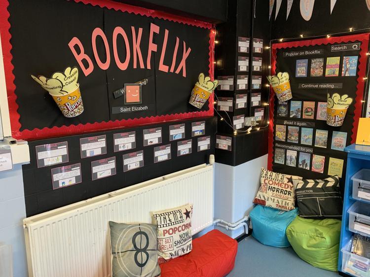 Year 4 Book corner