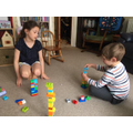Gregory counting towers game