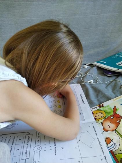Anna Maths work