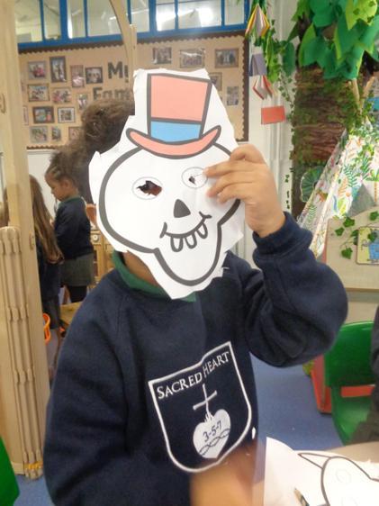 Amir's FunnyBones mask!