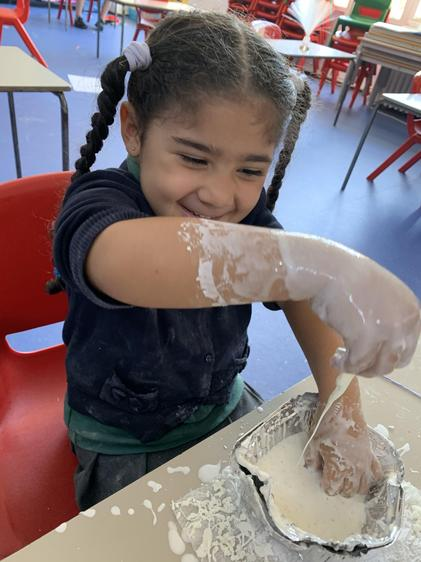 then time for messy play.