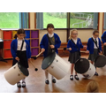 Year 4 enjoy weekly music lessons