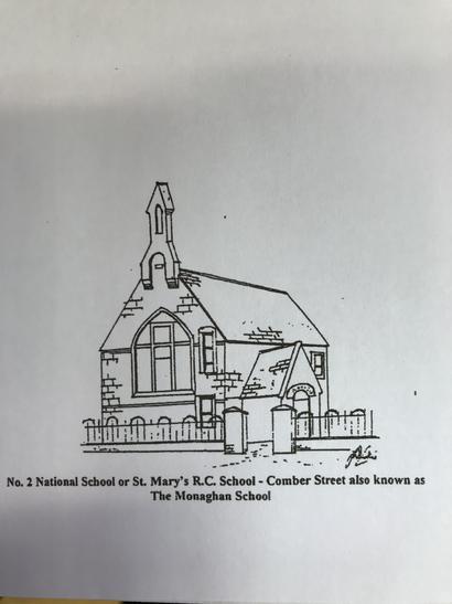 The original St. Mary's Primary School. Source: discoversaintfield