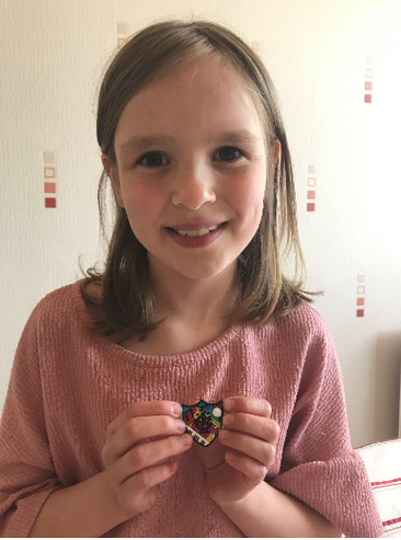 Zara Cook in Year 4 wrote to Blue Peter and told them about taking part in Young Voices and the music she liked. She just received a Blue Peter Badge!