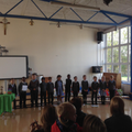 Our liturgy was about Harvest