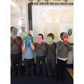 African mask making for One World History month