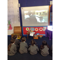 We watched a video on how we can help others.