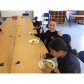 We enjoyed learning how to make a healthy stir-fry.
