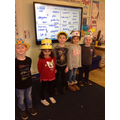 Maths Day - look at our amazing hats!