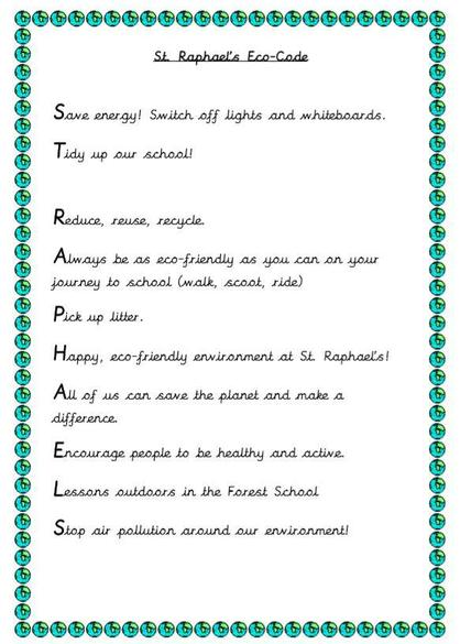 Have a look at our new Eco-Code!