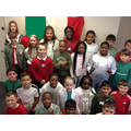 Year 6 were learning about ITALY!