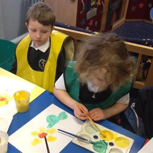 Colour Mixing Daffodils