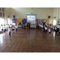 We loved Morris Dancing in PE!