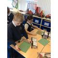 Shreddies for Green table
