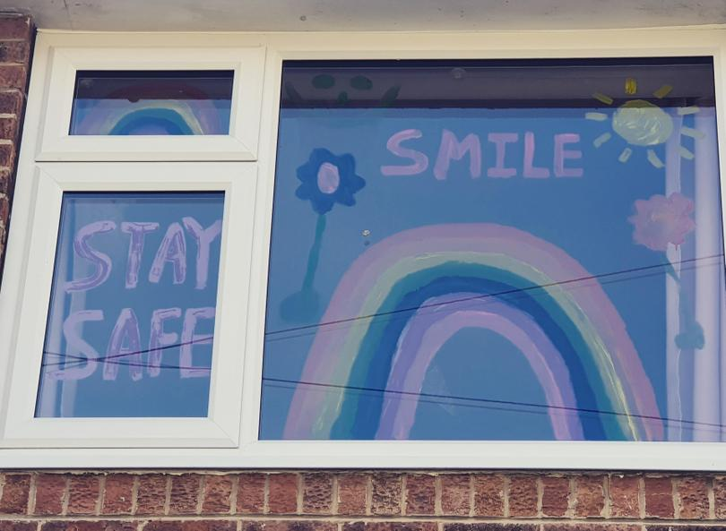 A wonderful positive window message- Imogen T