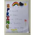 A super spring acrostic poem- Leo in Pearl.