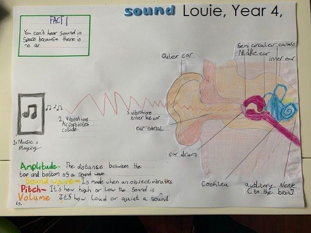 Louie RE; Year 4; Rowling Class