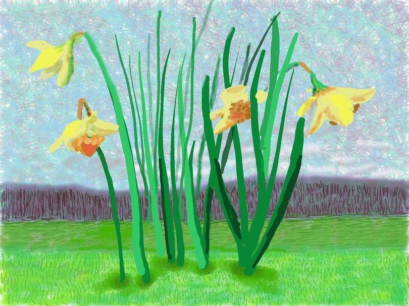 Do Remember they Can't Cancel Spring- Hockney