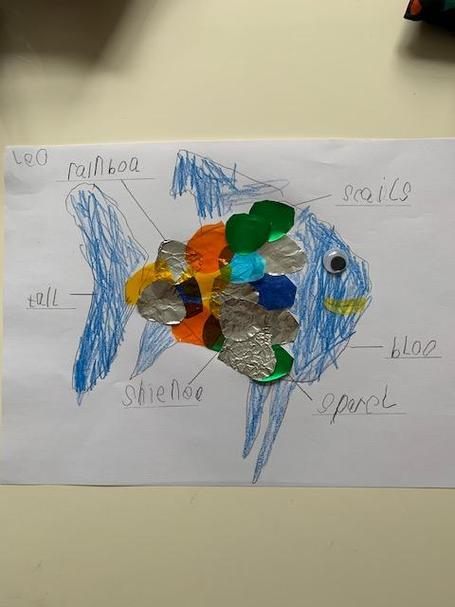 Leo R-E in Pearl has made a super rainbow fish.