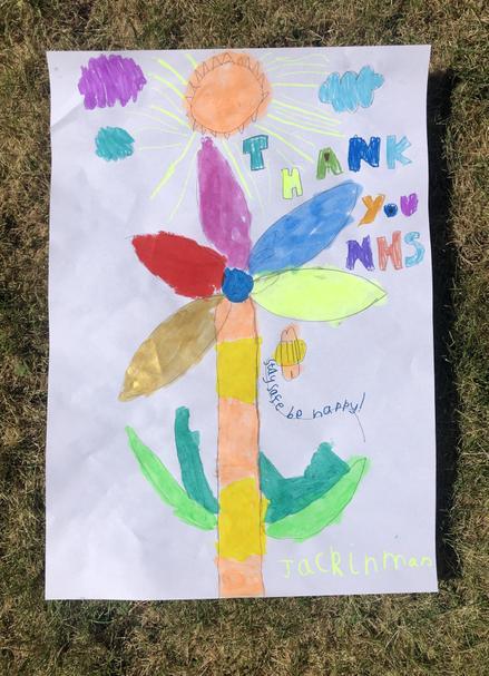 A wonderful bright flower- Jack I