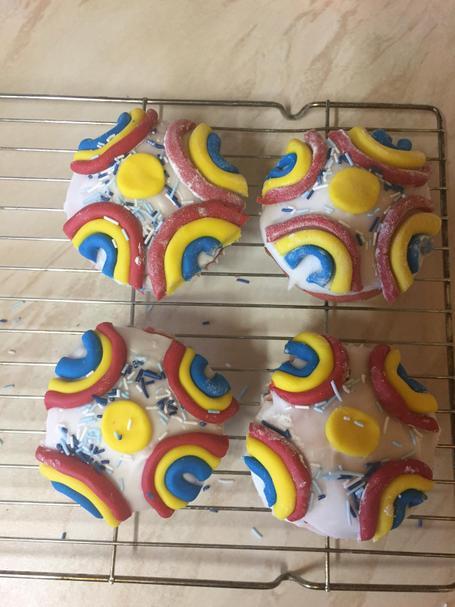 Some wonderful rainbow cakes!- Amy P