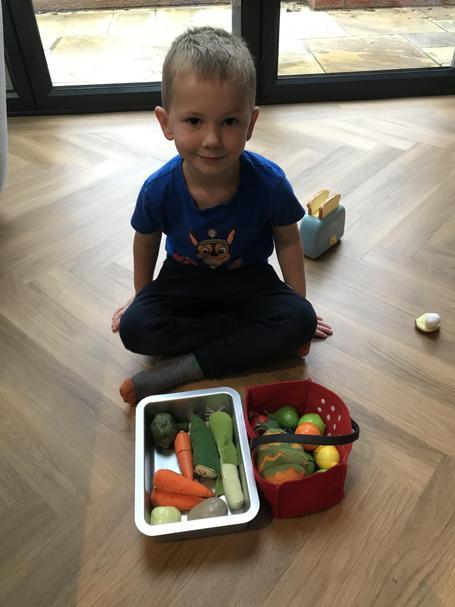 Sorting fruit and veg