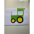 A super labelled tractor- Leo R-E, Pearl