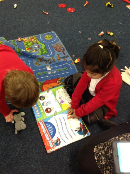 Retelling stories to our friends.