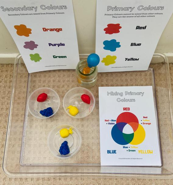 Your learning at home looks such good fun.