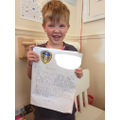 Oscar and his amazing writing- Pearl