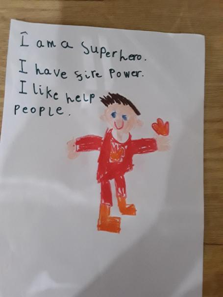 Such an amazing Superhero. Well done Karolina