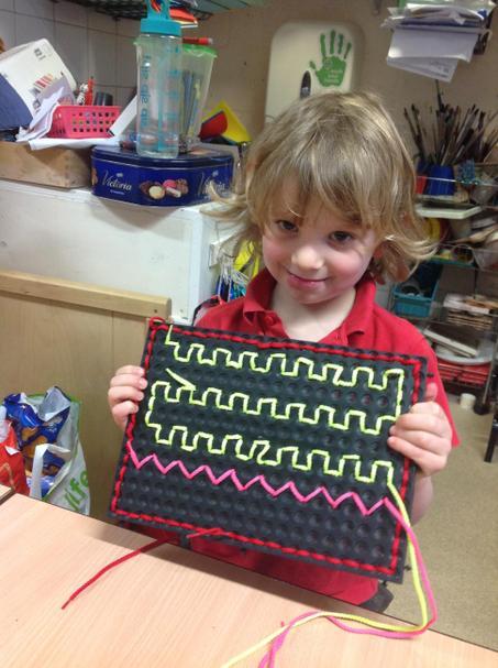 Amazing pattern making.