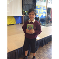 1st to complete reading challenge