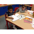 We had great fun writing our own sea stories!