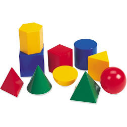 These are 3D shapes