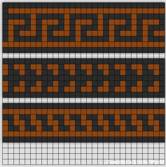 Using squared paper (or plain if you prefer) design your own Greek patterns