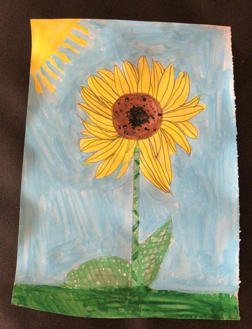 Isobel P's Sunflower