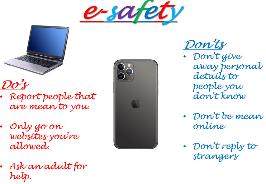 Seb's E-Safety Poster