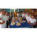Team Sawley Bake Off stars